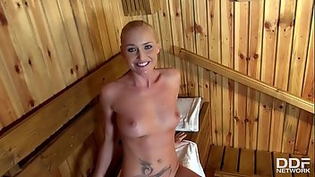 Sauna Cum In Mouth
