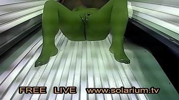 Solarium Teen Blonde Fingering