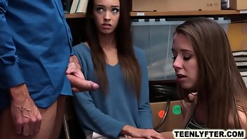 Uniform Teen Blowjob Rough