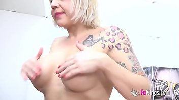 Contest Cumshot European Blonde