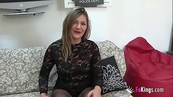 18 Years Old Cumshot European Blonde