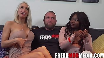 Interview Interracial Threesome Behind The Scenes