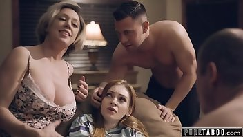 Foursome Hardcore MILF Shaved