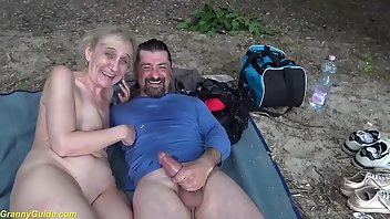 Saggy Tits Facial Outdoor Rough