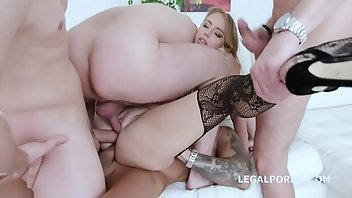 Fisting Anal Blonde Blowjob