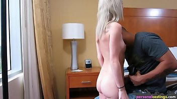 Interview Blonde Babe Amateur