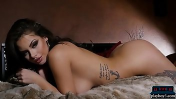Softcore Babe Brunette Tattoo