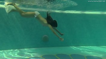Underwater Teen Babe Outdoor
