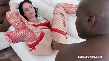 Farting Anal Blonde Interracial