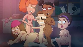 Bar Cartoon Orgy