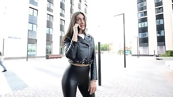 Spandex Leather