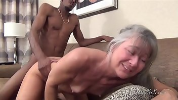 Bound Interracial MILF Amateur