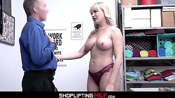 Food Blonde MILF Blowjob