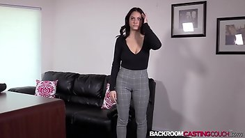 Backroom Anal Babe Creampie