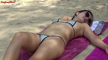Contest Babe Brunette Exhibitionist