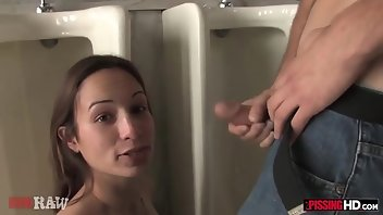 Golden Shower Gaping Blowjob Brunette