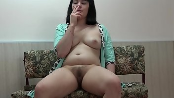 Cigarette Brunette Amateur Fingering
