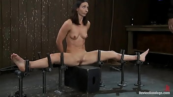 Hogtied Blonde BDSM Bondage