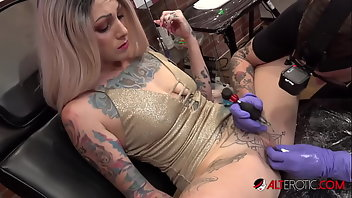 Clit Blonde Blowjob Tattoo